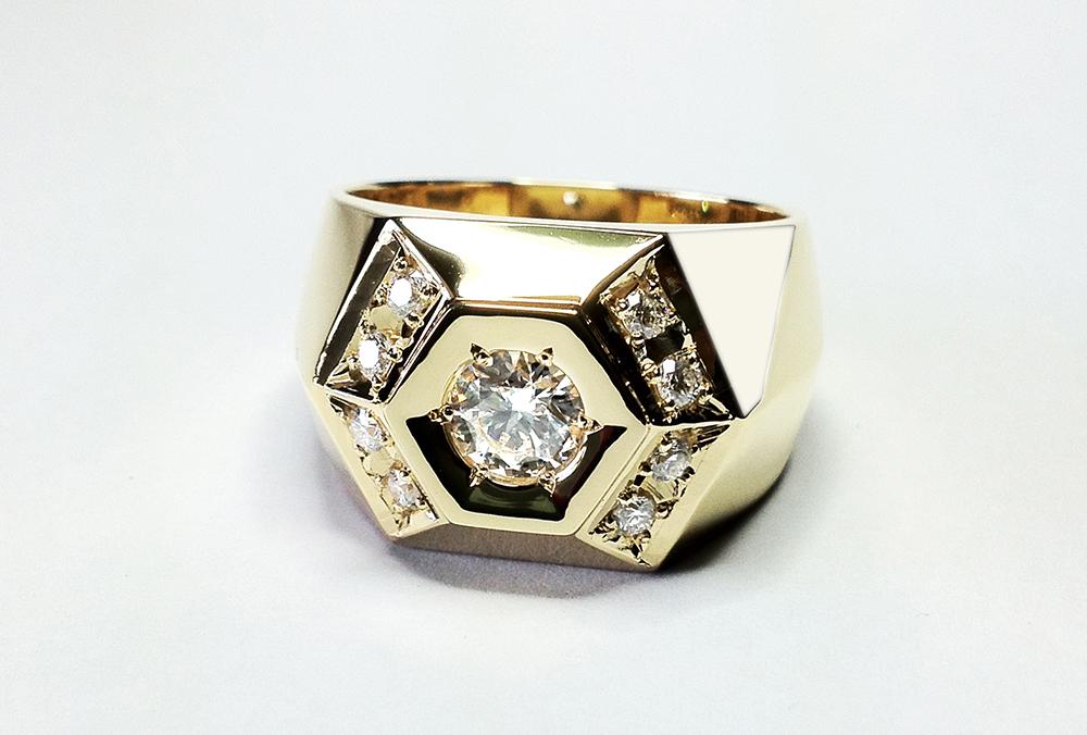 ダイヤモンドファッションリング【001】